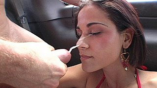 Miss Raquel gets her ass fucked, face spermed Thumbnail