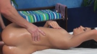 Bettina seduced and fucked by her massage therapist on hidden camera Thumbnail