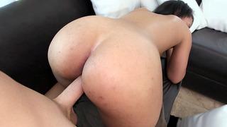 All natural Latina Ava Sanchez having doggy style sex Thumbnail