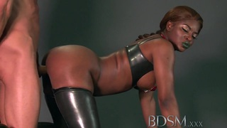 BDSM XXX Caged subs are humiliated before being taught Thumbnail