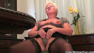 British grannies want you to watch as they masturbate Thumbnail
