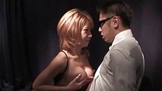 Breasty asian gives titty fuck and wet oral Thumbnail