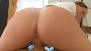 Deep anal and pussy gratifying for stunning hotty Thumbnail
