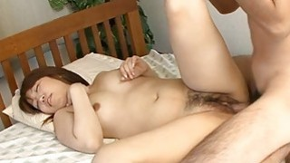 Sultry oriental thrills with cowgirl and wet oral Thumbnail