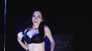 Sexy Teen Performs Striptease
