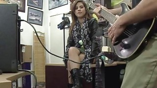 Pretty rockstar Lilith Shayton turns into pornstar when she get banged hard in the pawnshop