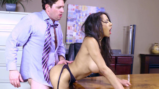 Priya Price having quick sex during her lunchtime Thumbnail