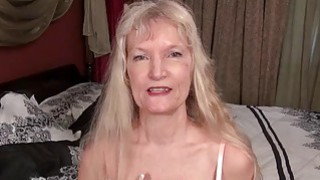 EuropeMature Blonde hairy grannies Cindy and Sami Thumbnail