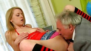 Demure playgirl gets her pussy ravished by teacher