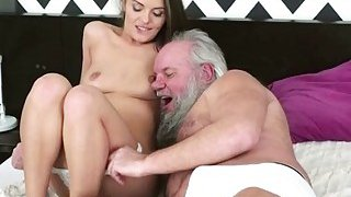 Big tits Dominica Fox fucked by grandpa Thumbnail