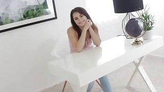 Teen Step Sis Kylie Quinn Riding Big Schlong Thumbnail